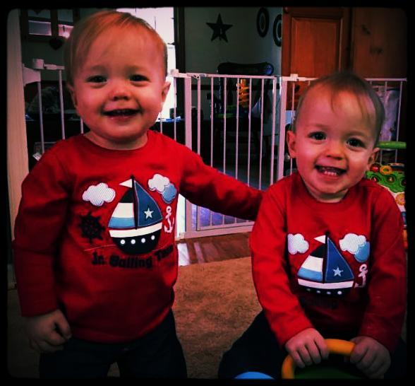 Christmas Elijah and Owen