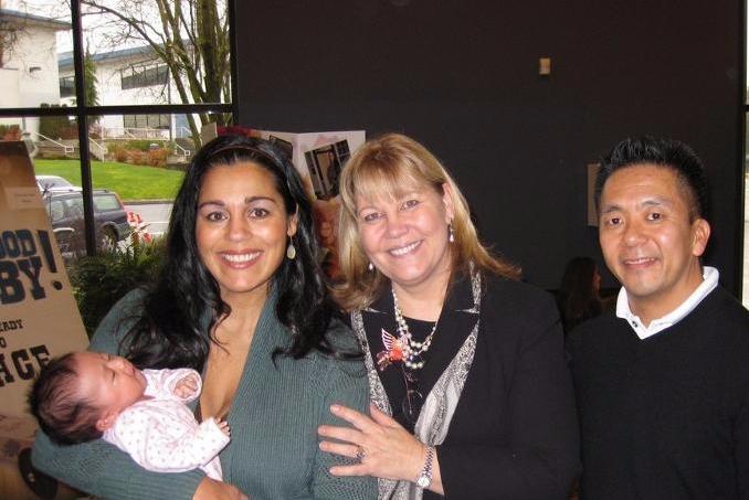 Craig and Elena with Maria