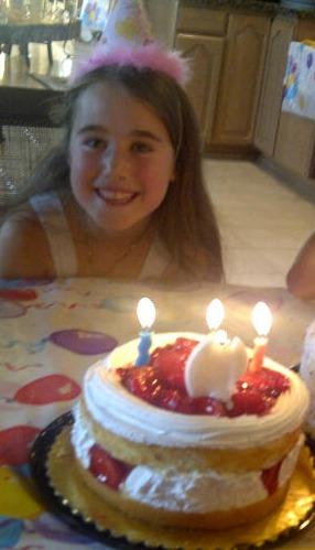 Elisha Birthday Cake