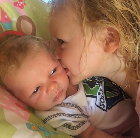 Jack and big sister