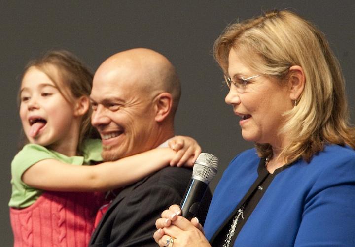 Jeff and Maria with Elisha