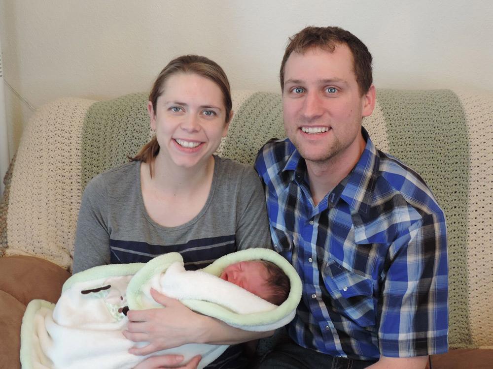 New Parents Steva and Brian