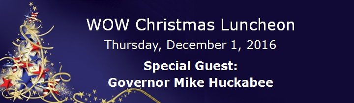 Wow - Special Guest Governor Mike Huckabee